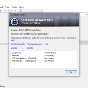keepass 2.47 password manager