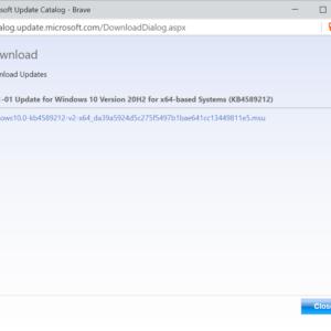 windows-10 january 2021 microcode updates