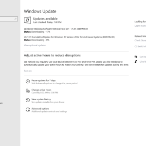 windows january 2021 updates security