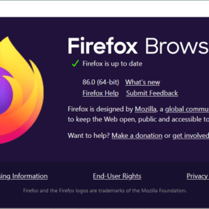 firefox 86.0 stable