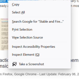 firefox-context menu redesign