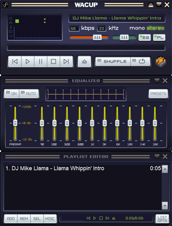 New Winamp Community Update Project (WACUP) preview released