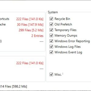 SCleaner is an open source Disk Cleanup alternative