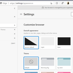 microsoft edge customize your browser
