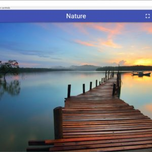 FlipFlip displays images as randomized slideshows with cool effects