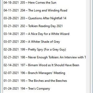 Kodkast podcast episodes list