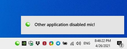 MicKey notification