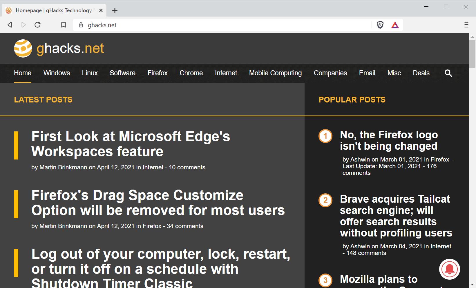 brave browser floc