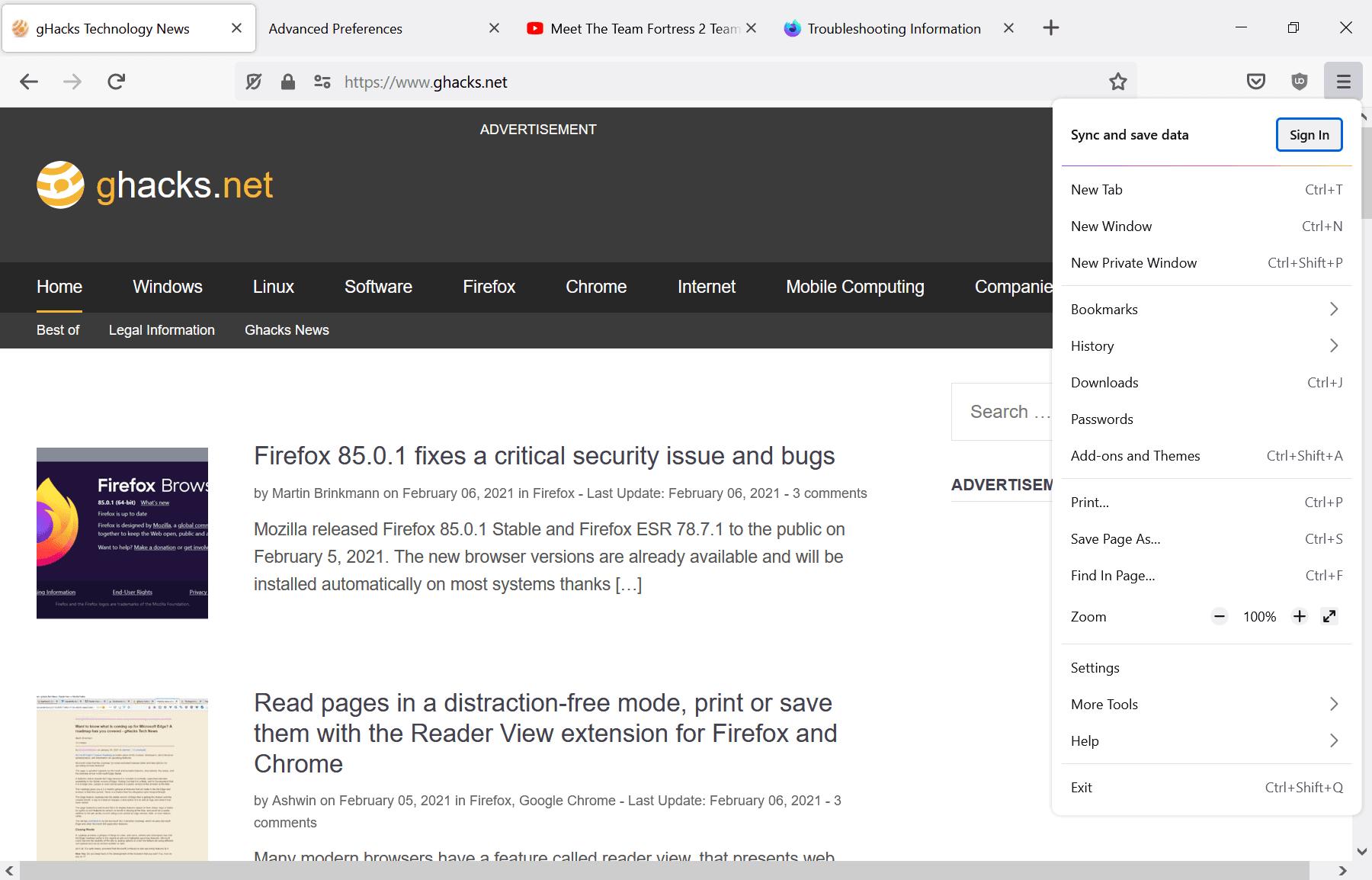 firefox proton design