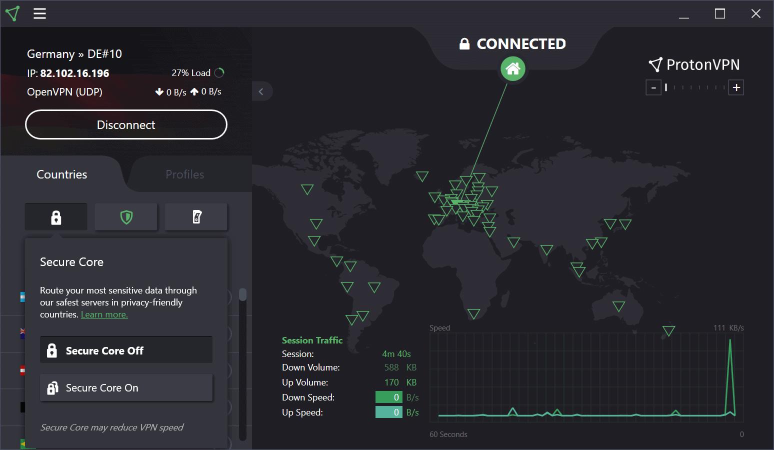 secure core proton vpn