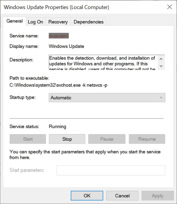 windows update automatic