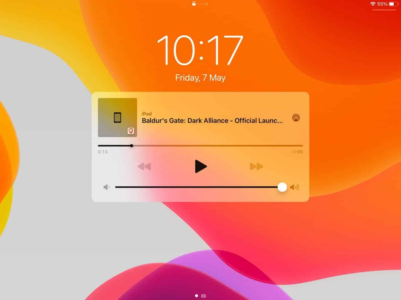Brave-playlist-ios-control-playback-from