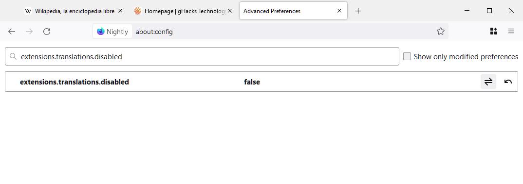 firefox enable translations