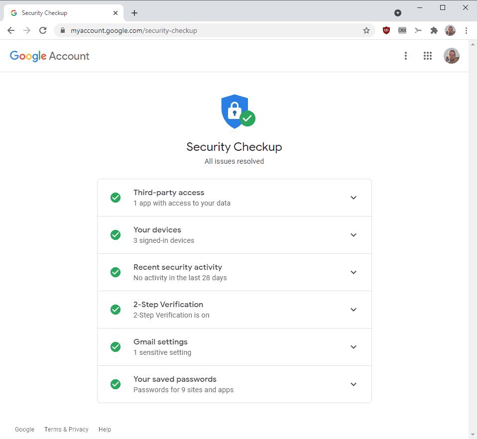 google two-factor authentication mandatory