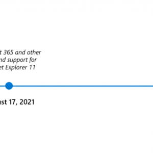 internet explorer retire timeline