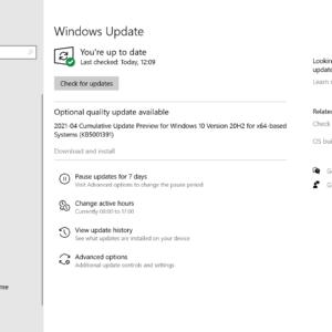 kb5001391 cumulative update windows 10