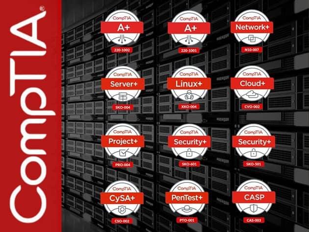 Ghacks Deals: The 2021 Complete CompTIA Certification Prep Super Bundle (98% off)