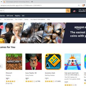 amazon app store windows 11