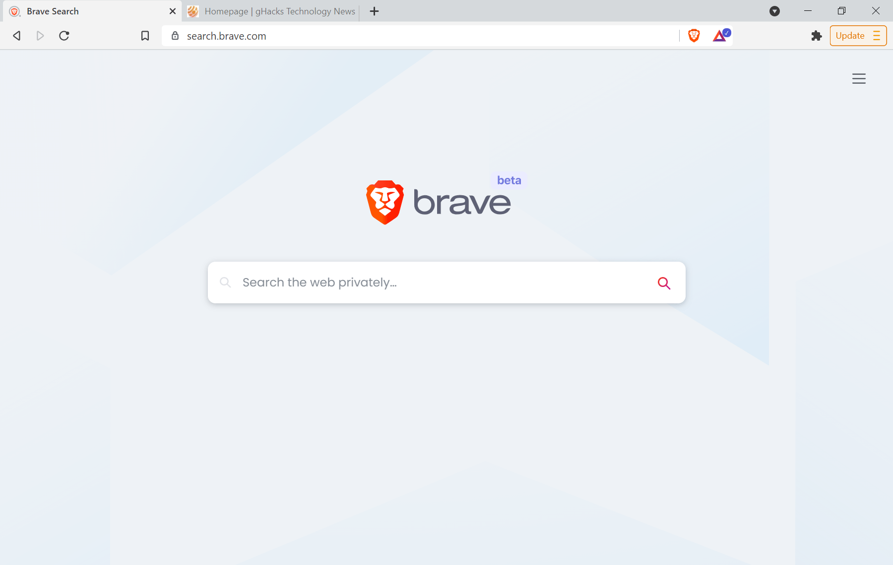 brave search beta