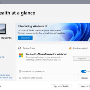 check windows 11 compatibility