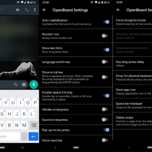 openboard keyboard android