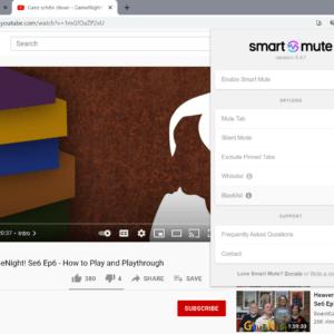 smart mute chrome
