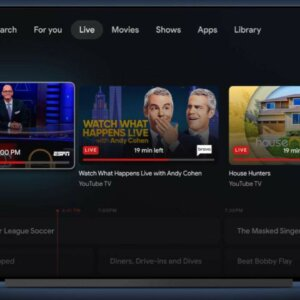Google TV for Android Has More Streaming and Live Services