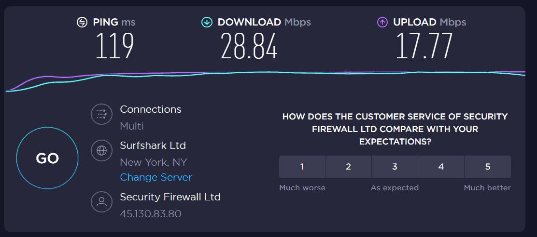 expressvpn speedtest usa