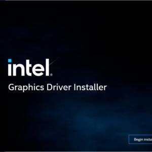 intel graphics driver windows 11