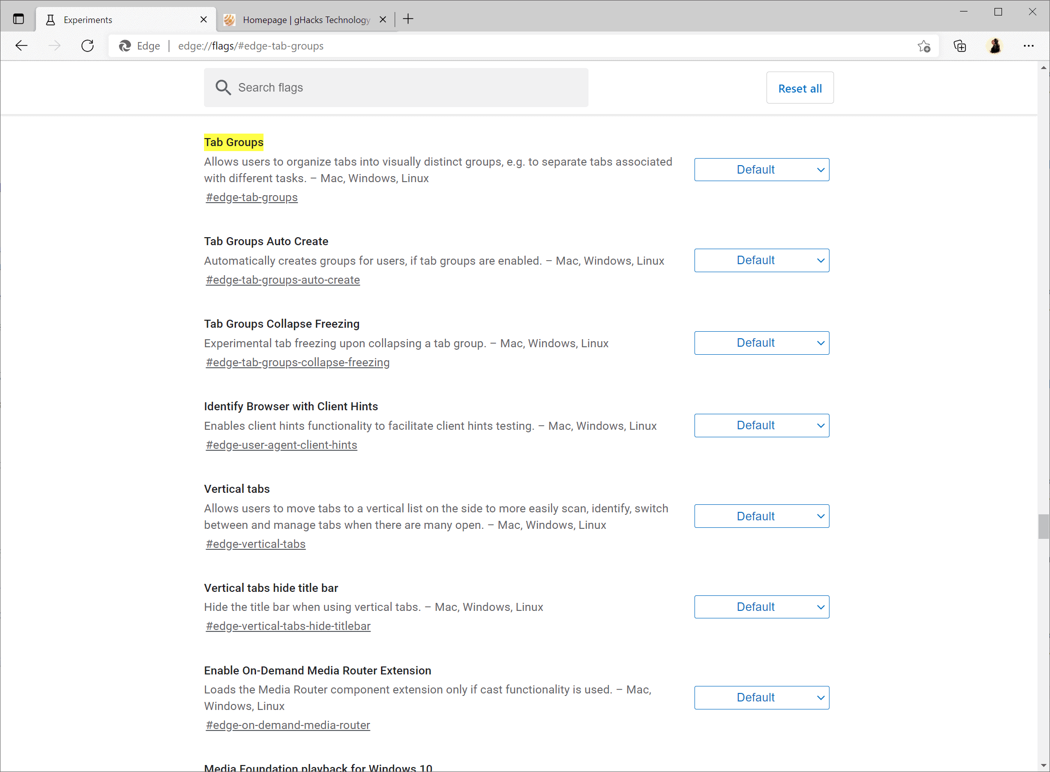 microsoft edge 2021 upcoming features