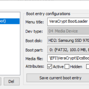 windows bootloader manage