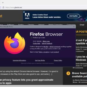 firefox 91.0.1 release