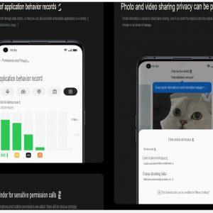 Oppo ColorOS 12 privacy controls