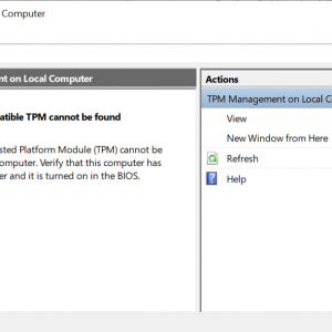 check tpm 2.0 support windows