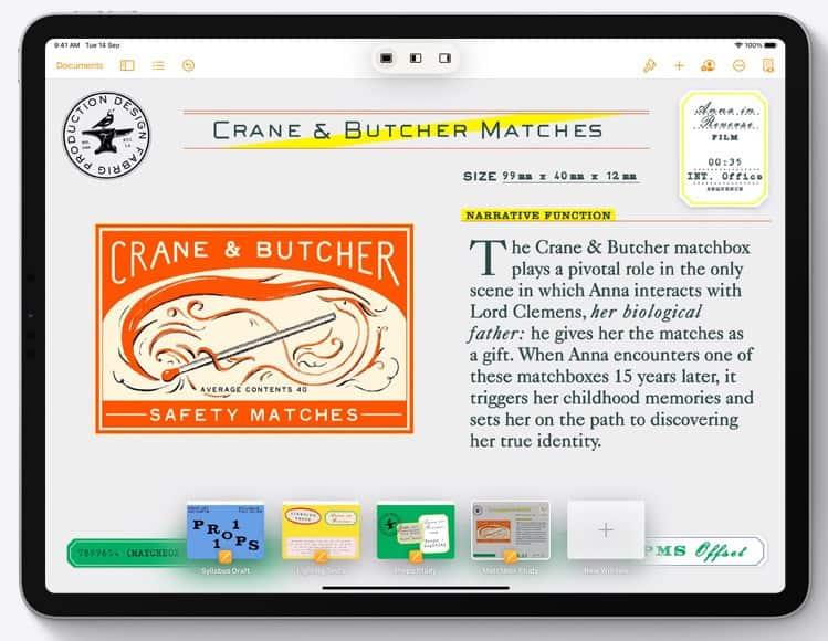 iPadOS 15 App Switcher