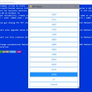 mediacreationtool download windows 11 iso
