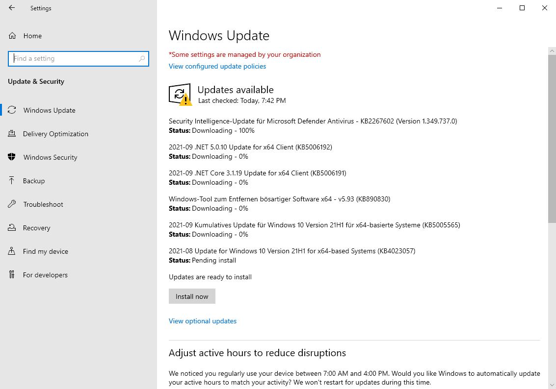microsoft windows security-updates-download september 2021