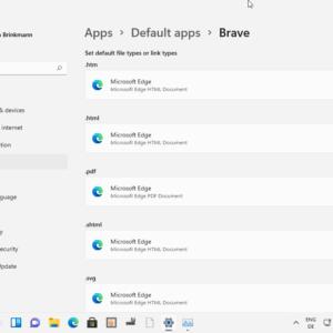 windows 11 set default apps