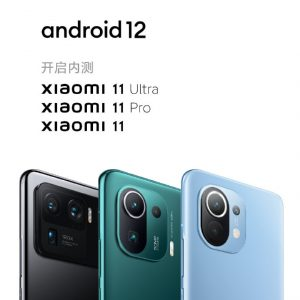 Android 12 Update for Xiaomi devices