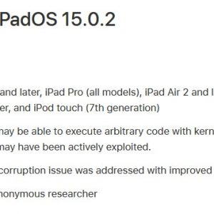 Apple releases iOS 15.0.2 to fix zero-day exploits; update your iPhone now