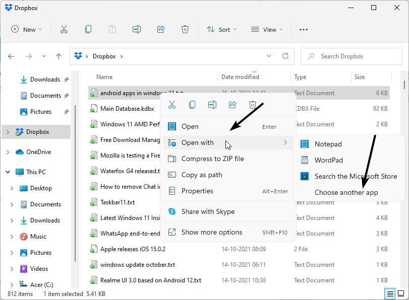 How to change default programs on Windows 11