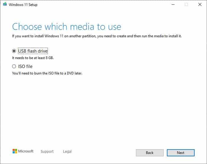 Windows 11 Installation Media