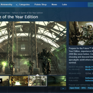 fallout 3 games for windows live removed