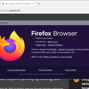 mozilla firefox 93.0 browser