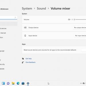 windows 11 volume mixer